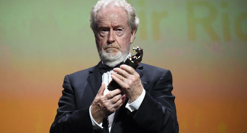 Venice Film Festival: Ridley Scott, received the Cartier Glory award