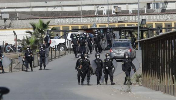 Un motín se suscitó esta mañana en el penal Ancón, conocido como Piedras Gordas. (Foto: Anthony Niño de Guzmán/GEC)