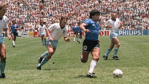 Diego Maradona: el partido ante Inglaterra en 1986 es el más simbólico en todas su carrera. (Foto: AFP)