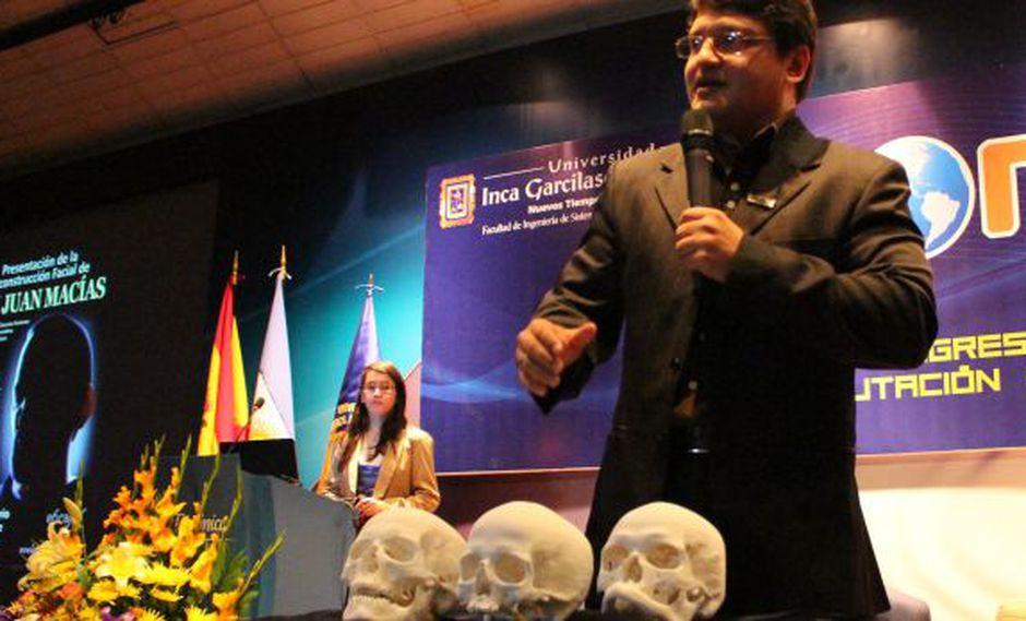 Presentan cráneos de santos peruanos impresos en 3D