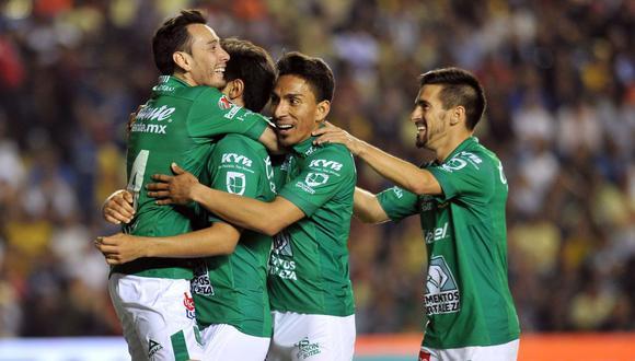 León venció 1-0 al América el jueves en el partido de ida de su semifinal del torneo Clausura-2019 de la Liga MX. (Foto: AFP)