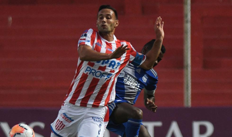 Emelec vs Unión de Santa Fe: Copa Sudamericana. (Foto: AFP)