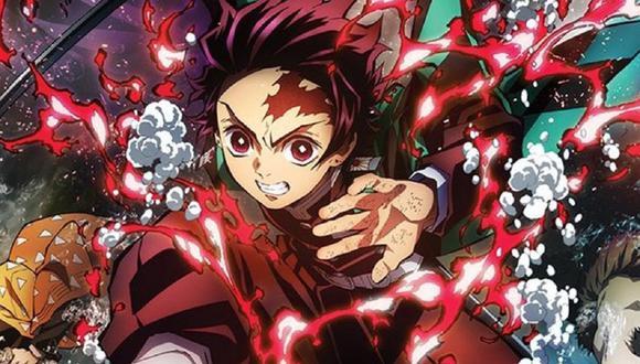 """Demon Slayer: Mugen Train"" es una película de anime japonesa de 2020 basada en la serie de manga shōnen Kimetsu no Yaiba de Koyoharu Gotōge (Foto: Ufotable)"