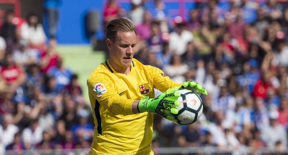 El portero del Barcelona Ter Stegen tiene una cláusula de rescisión de 180 millones de euros. (Foto: AFP/Reuters)