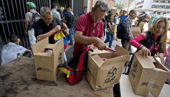 Departamento del Tesoro de Estados Unidos dice que Venezuela usa comida subsidiada para lavar activos | Nicolás Maduro. (AP).