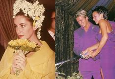 8 celebridades que se casaron a todo color y dejaron atrás el clásico blanco   FOTOS