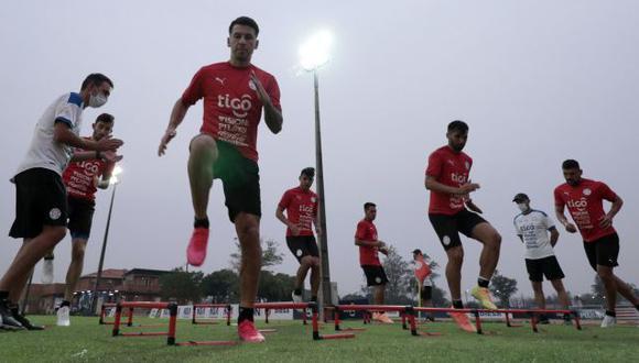 Paraguay también lleva una semana de entrenamiento con sus convocados para Eliminatorias. (Foto: APF)