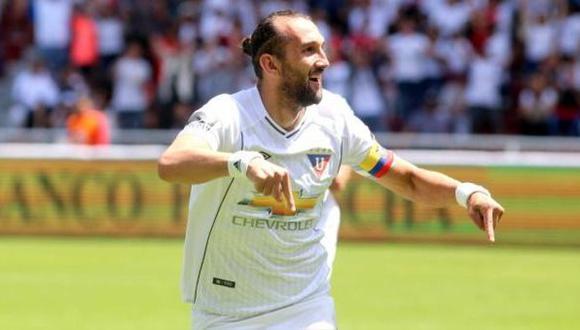 El argentino Hernán Barcos es un delantero de amplia experiencia. (Foto: AP)