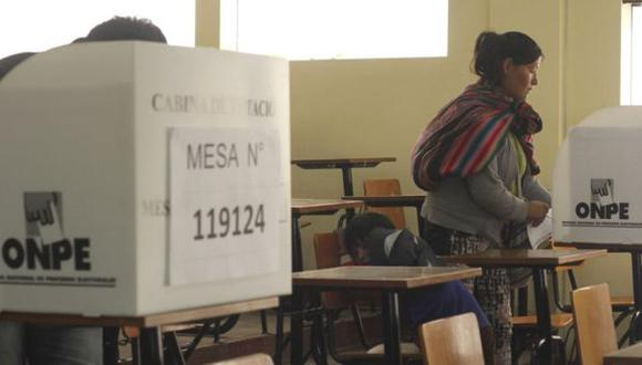 ONPE pide a electores esperar resultados oficiales de hoy