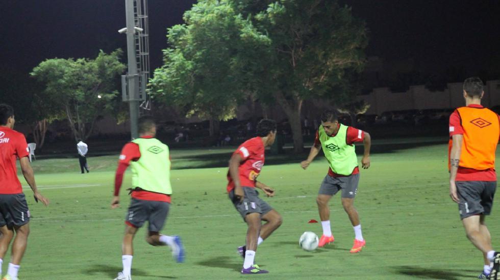 Selección completa segundo entrenamiento en Qatar a 40 grados  - 3