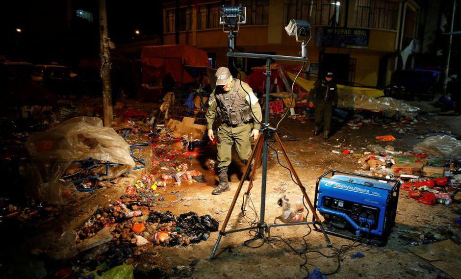 """""""Hay niños por partes"""": el testimonio de los sobrevivientes de la explosión en Bolivia. (Foto: Reuters)"""
