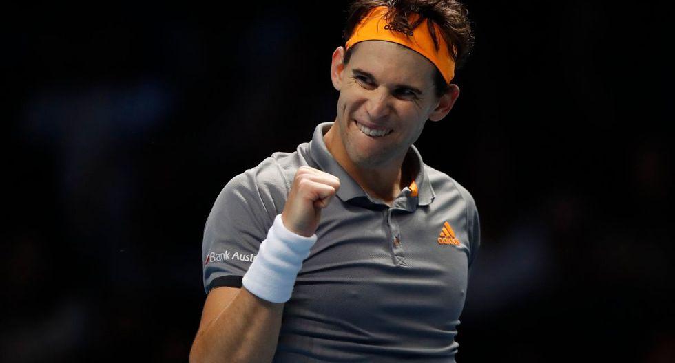 Thiem jugará la final del ATP Finals. (Foto: Agencias)