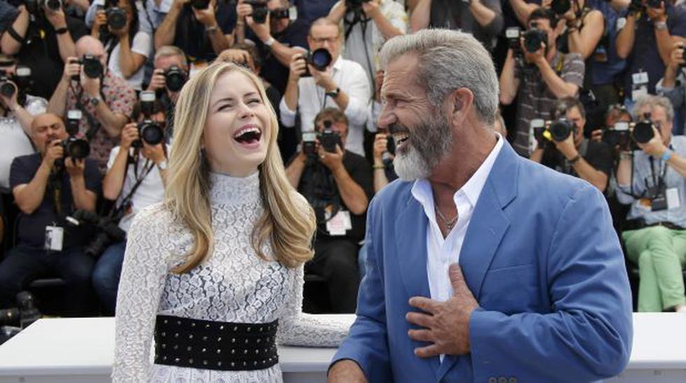 Festival de Cannes: Mel Gibson sorprende al bailar con actriz - 2