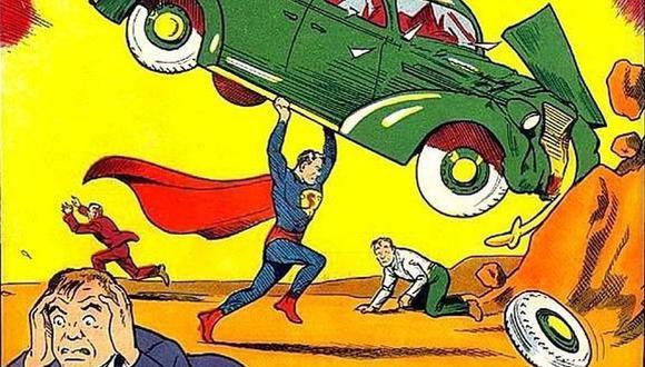 Este cómic de 'Superman' fue subastado en más de $3 millones de dólares. (Imagen: Christopher & Dana Reeve Foundation)