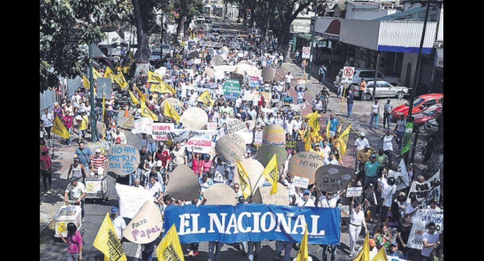 """Diarios de América evitan que """"El Nacional"""" deje de circular"""