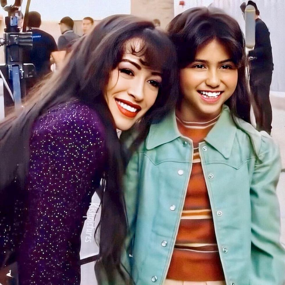 """Christian Serratos y Madison Taylor Baez encarnarán a Selena Quintanilla, durante la adultez y la infancia del personaje, respectivamente. Podremos ver su debut en """"Selena: The Series"""" que se estrenará el próximo 4 de diciembre en Netflix. (Foto: Instagram @madisonbaezmusic)"""