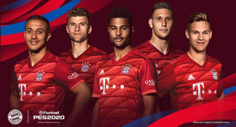 Bayern Munich vuelve al Pro Evolution Soccer. (Foto: Official PES)