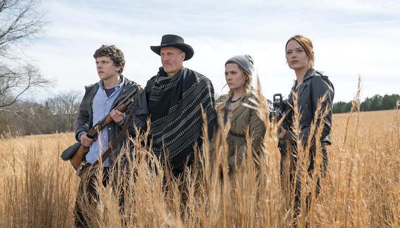La secuela de Zombieland llega con su cast original y con Woody Harrelson a la cabeza. (Foto: Columbia Pictures)