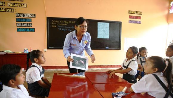 """""""El impacto de no reanudar la educación presencial es desigual"""". (Foto: Andina)"""
