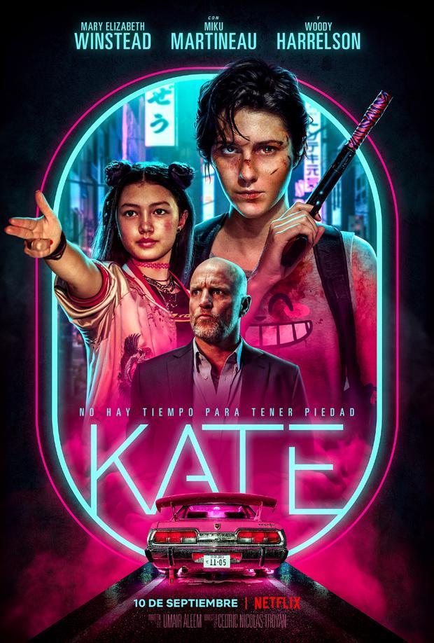 """Póster de """"Kate"""". (Foto: Netflix)"""