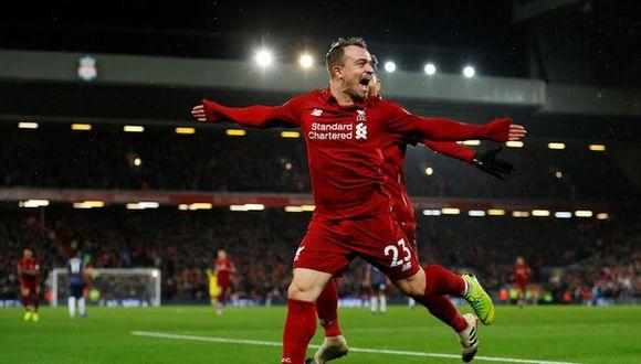 Manchester United visita al Liverpool en Anfield por la fecha 17 de la Premier League | Foto: AFP