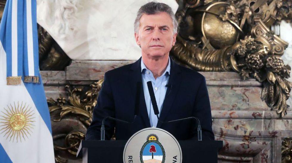 """Mauricio Macri alerta que el narcotráfico creció """"exponencialmente"""" en Argentina. (AFP)"""