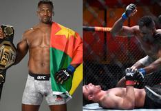 Francis Ngannou, la fiera noble de la UFC