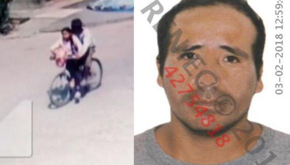 César Augusto Alva Mendoza, apodado 'El monstruo de la bicicleta'. (USI)