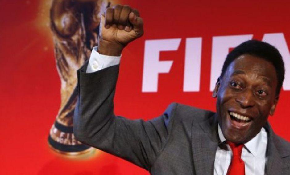 """Pelé: """"Lo más importante para Brasil es no cruzarse con España"""""""