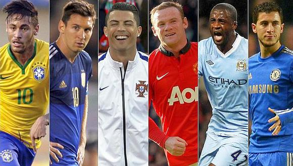 Cuánto ganan las estrellas del fútbol que jugarán en el Mundial