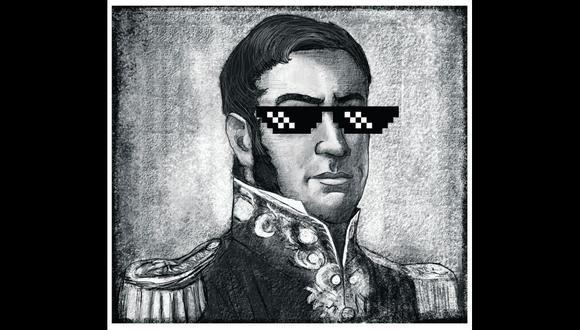 Mitos, leyendas y medias verdades de la historia nacional: cuando el patriotismo echa mano del ingenio. [Iustración: Giovanni Tazza]