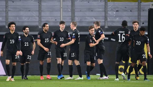 La selección alemana enfrentó a su similar de Islandia por las eliminatorias europeas para Qatar 2022  Foto: @DFB_Team_ES
