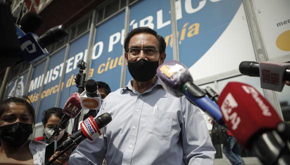 Martín Vizcarra envió el documento firmado por él y su abogado a la Subcomisión de Acusaciones Constitucionales. (Foto: archivo GEC)