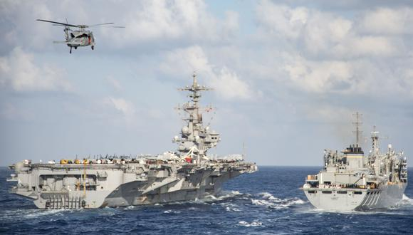 Estados Unidos envía una flota al mar de Barents por primera vez desde la Guerra Fría. (Foto referencial, Patrick Ian CRIMMINS / US NAVY / AFP).