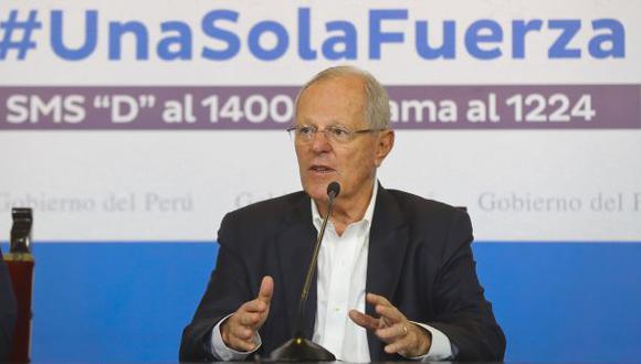 PPK se refirió a Ecuador al hablar de prevención por El Niño