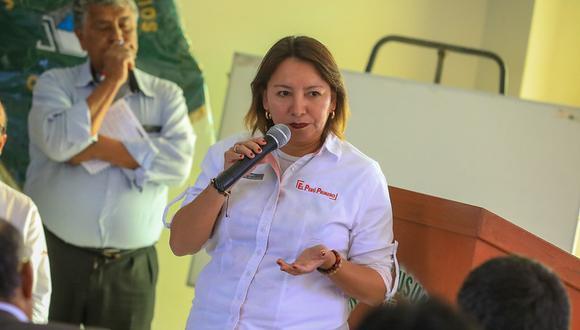 Rocío Barrios, ministra de la Producción, ha sido denunciada por presunto peculado cometido en el 2014. (Foto: Produce)