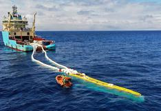 Ocean Cleanup: crean una red gigante de 800 metros para limpiar de plásticos en los mares