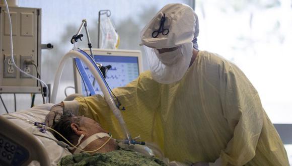 Coronavirus en Estados Unidos | Últimas noticias | Último minuto: reporte de infectados y muertos hoy, lunes 24 de mayo del 2021 | Covid-19. (Foto: EFE/EPA/ETIENNE LAURENT).