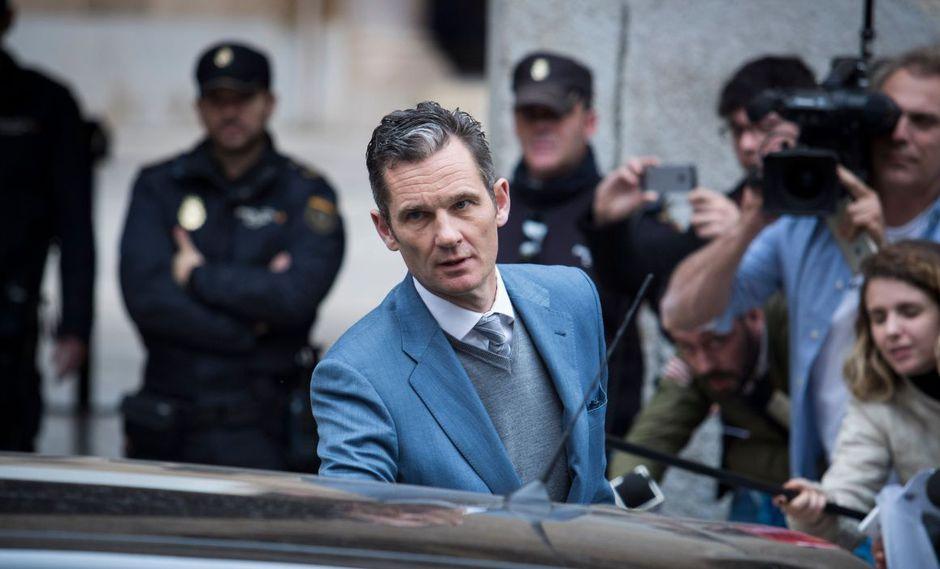 Urdangarin, esposo de la infanta Cristina, fue condenado por el desvío de más de seis millones de euros de dinero público entre 2003 y 2006. (Foto: AFP)