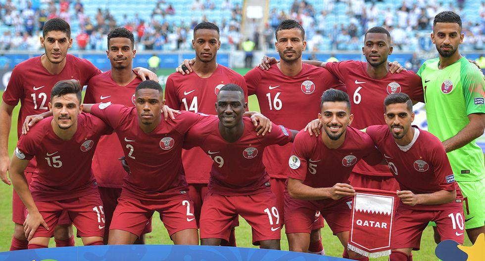 Qatar, el otro invitado, solo sumó un punto. (Foto: AFP)
