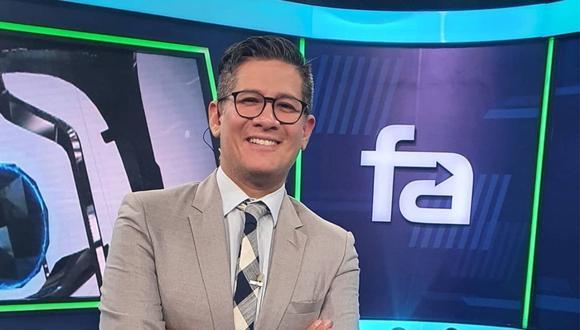 Erick Osores se refirió a los partidos que transmitirá América TV luego que el canal adquirió los derechos de la Eurocopa y la Copa América. (FOTO: @erickosores)