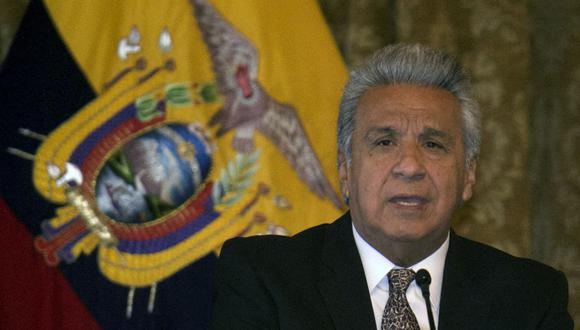 Lenín Moreno vincula motines en Ecuador al crimen organizado y el narcotráfico. (Foto: Rodrigo BUENDIA / AFP).