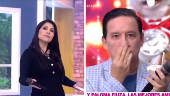Tula Rodríguez y Ricardo Rondón se dijeron muchas frases sobre sus edades. (Foto: Captura América TV)