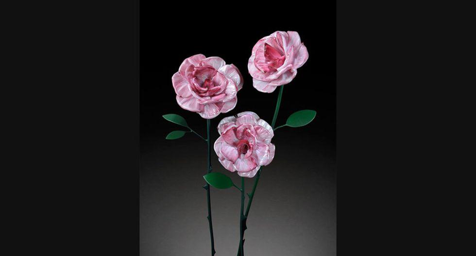 ¿Son reales? Estas flores gigantescas están hechas de vidrio - 3