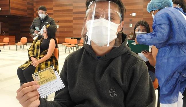 Vacunación a menores de 12 a 17 años contra el COVID-19 está programada para noviembre.  (Foto: Diresa Tacna)