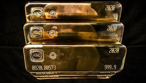 Los futuros del oro en Estados Unidos perdían 0,7% a US$1.883,30 la onza. (Foto: AFP)