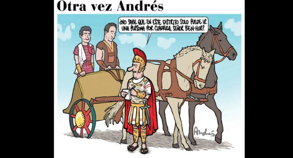 Otra vez Andrés: días de Semana Santa, según la mirada de Edery.
