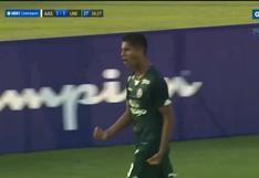 Gol de Universitario: el gran cabezazo de Leonardo Rugel para el 2-1 de los cremas | VIDEO
