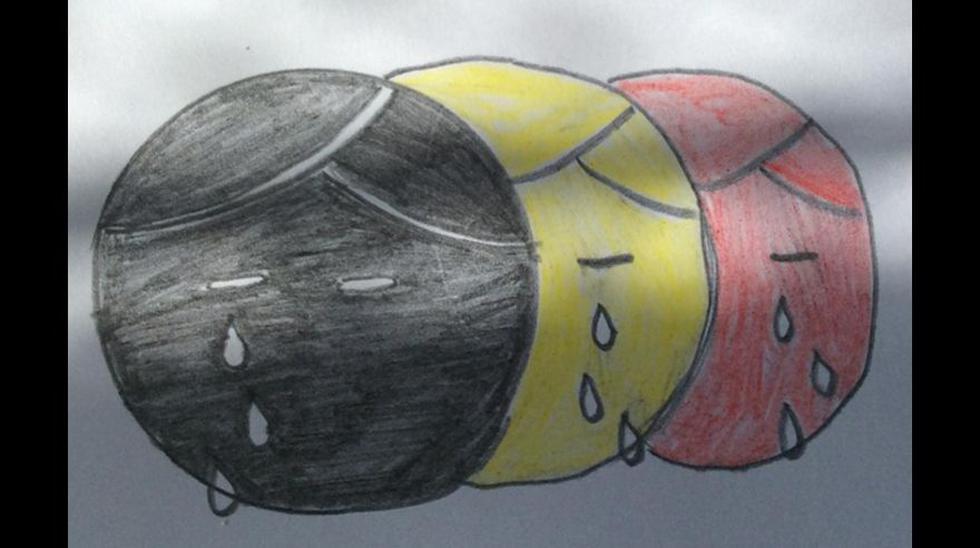 """Lágrimas de """"Tintín"""" se multiplican tras atentados de Bruselas - 21"""