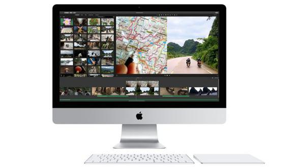Apple agrega pantallas retina 4K a las computadoras iMac